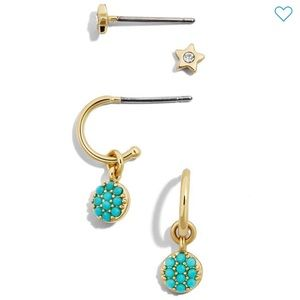 NWT • Baublebar • 2-Pack Stud Earrings